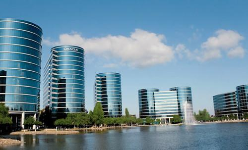 Oracle headquarters in Silicon Valley.