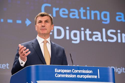 Andrus Ansip, European Commission Vice President for the Digital Single Market