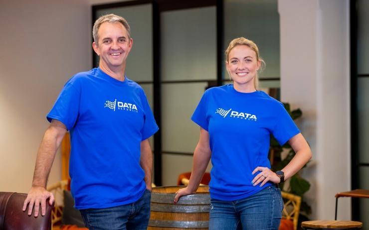 Paul McCarney and Lynn Thompson (Data Republic)