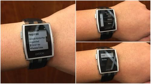 The Pebble smartwatch can now run Android Wear apps.