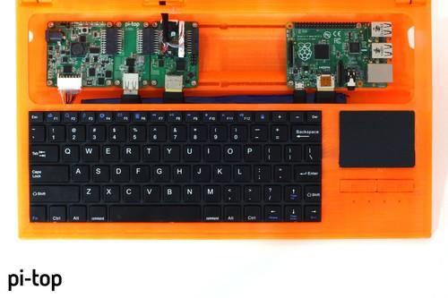 Raspberry Pi 2 laptop with Pi-Top kit (1)
