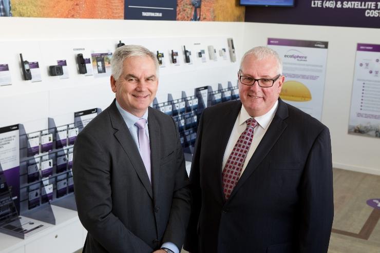 (L-R) Peter Bolger and Robert Sakker (Pivotel)