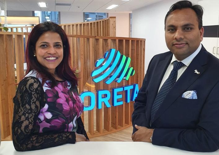 Rajitha Rajasingham and Sachin Verma (Oreta)
