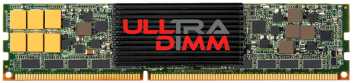 SanDisk's ULLtraDIMM SSD connects flash storage to the memory channel via standard DIMM slots, in order to close the gap between storage devices and system memory. The company says it can achieve less than five microseconds write latency at the DIMM level.