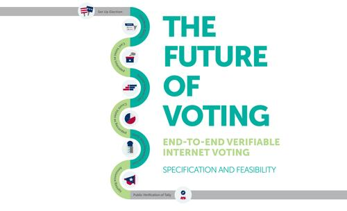 Internet voting isn't quite ready for mainstream use, but voting officials can take steps to make it more secure, a new report says.