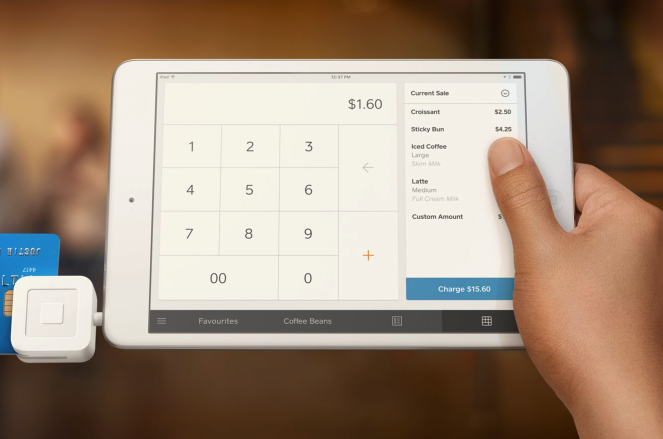 The Square Card Reader is a small device that plugs into your smartphone's headset jack and works with Square's app to enable you to accept credit card payments via your mobile phone.