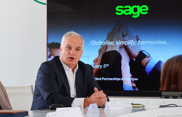 Alan Laing - Executive vice president of partnerships and alliances, Sage