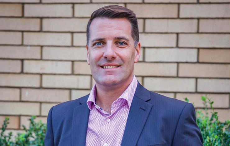 Exclusive Networks Pacific managing director, Dominic Whitehand
