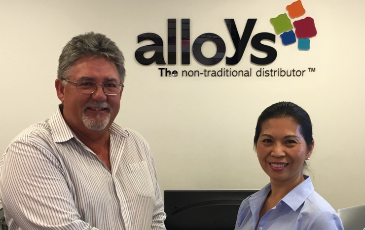 Steve Charles - Sales and Marketing Manager, Sony and Diana Elliott - National Sales Manager - IT Division, Alloys