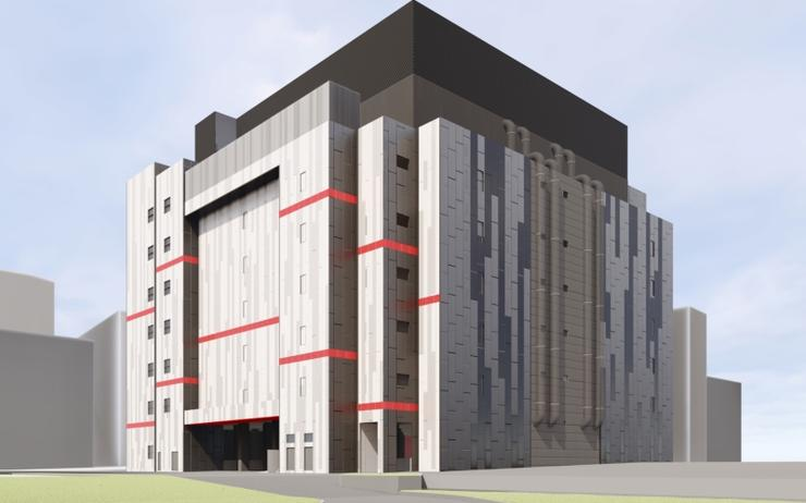 Artist impression of Equinix's SG4