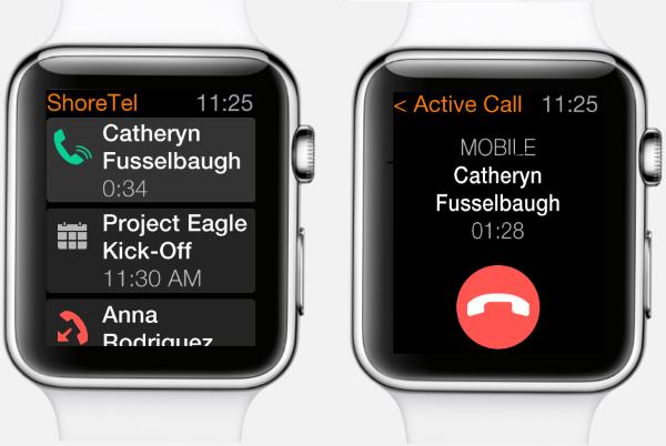 ShoreTel launches its UC app for the Apple Watch