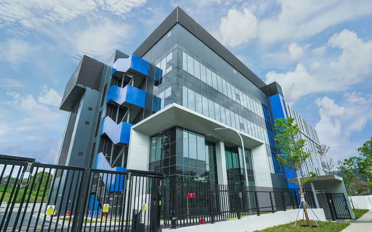 Digital Realty's third and largest facility in Singapore, the multi-story, 50-megawatt facility known as Digital Loyang II or SIN12.
