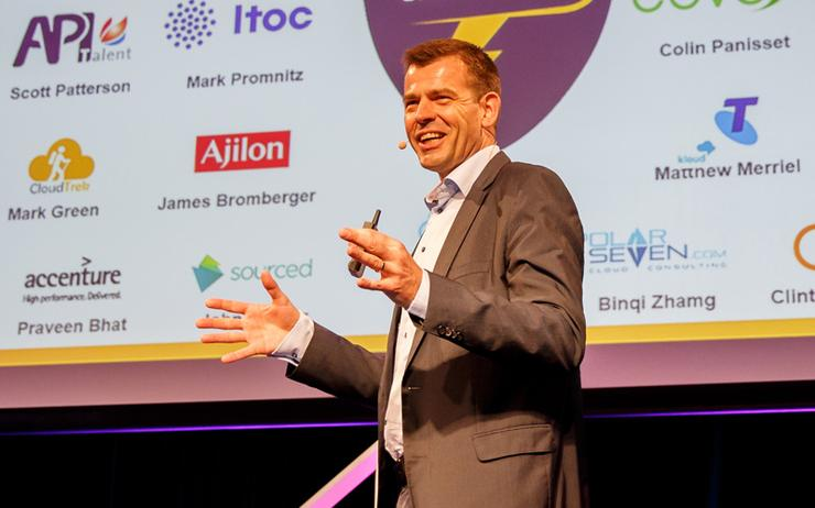 Stefan Jansen - Head of Channels and Alliances, AWS (Photo - Maria Stefina)