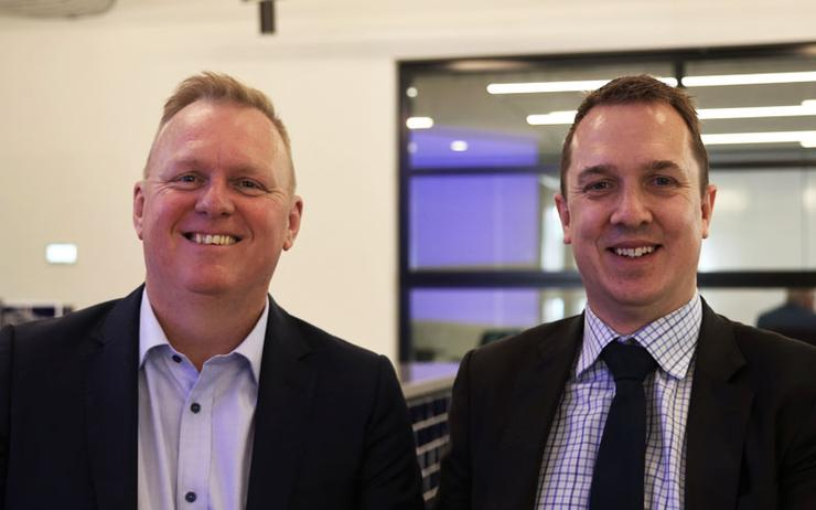 Michael Chanter (TDL) and Toby Alcock (CNI)