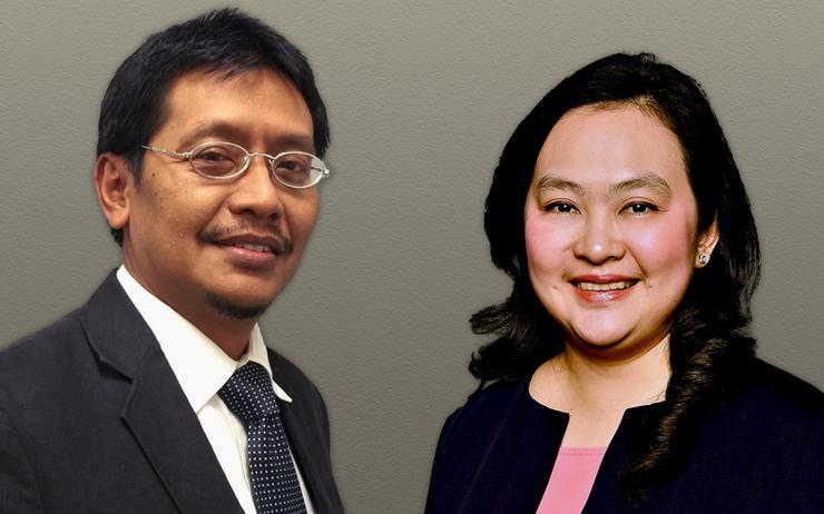 Agus F. Abdillah (Telkomtelstra) and Cin Cin Go (VMware)