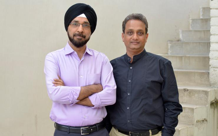Gurprit Singh and Sanjay Agarwal (Umbrella Infocare)