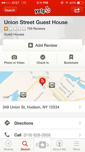 Most of these one-star reviews come from people who have never stayed at Union Street Guest House.