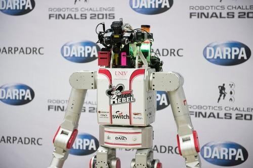 The UNLV robot took eighth place in the DARPA challenge finals. It may one day be doing room service at a Las Vegas hotel.