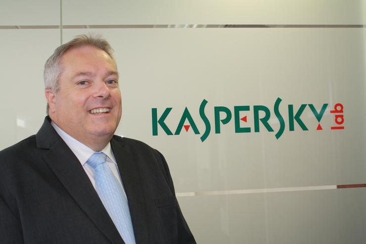 Kaspersky Lab names Peter Brady as its new general manager