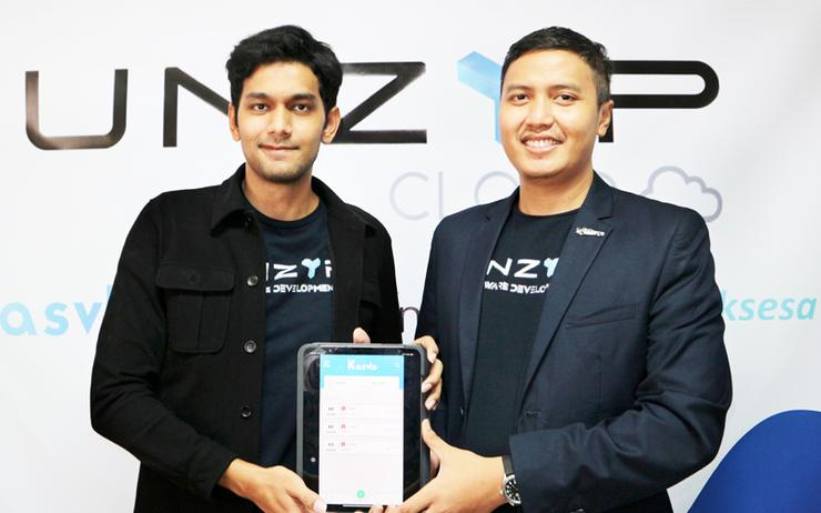 Fauzi Assegaf and Untag Pranata (Unzyp Software)
