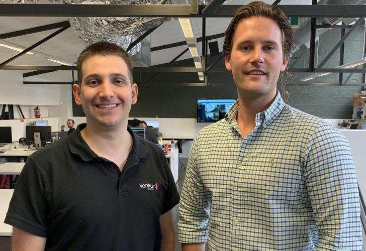 VentraIP's Angelo Giuffrida and Netorigin's Blake Burton