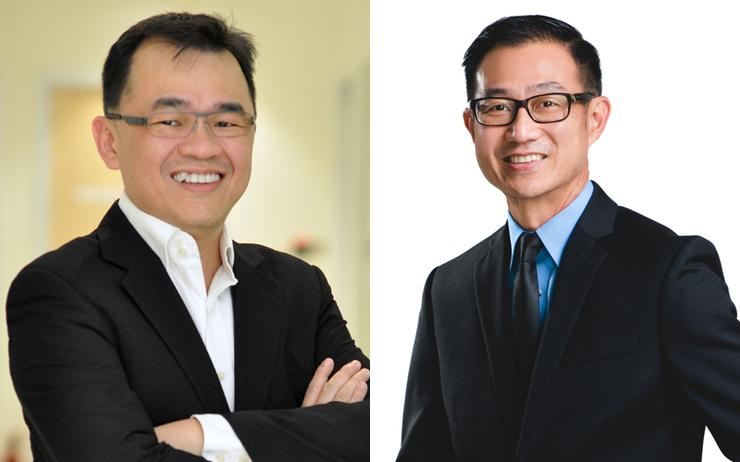 Teoh Wooi Keat (Vertiv) and Yoon Kam Fei (Innovix)