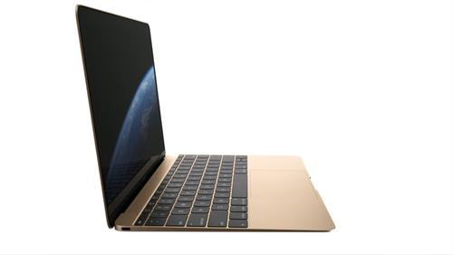 The new Apple MacBook in Gold