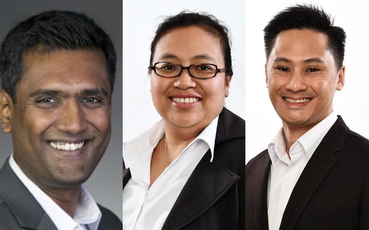 Karthik Viswanathan; Malis Selamat and Michael Hoo (VMware)