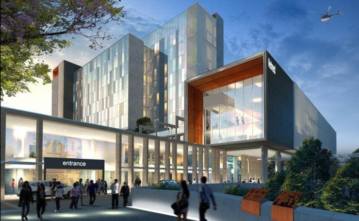 Artist's impression of Westmead precinct