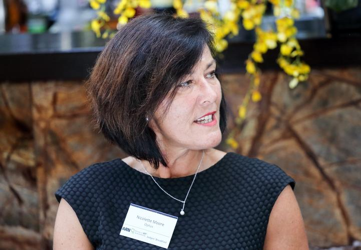 Nicolette Moore - former Optus Business acting director of security