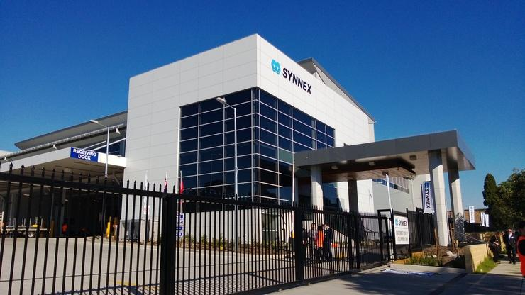 Synnex's $45m logistics centre in Lidcombe, Sydney