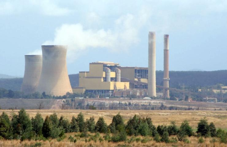 Yallourn power station is the third largest in Victoria.
