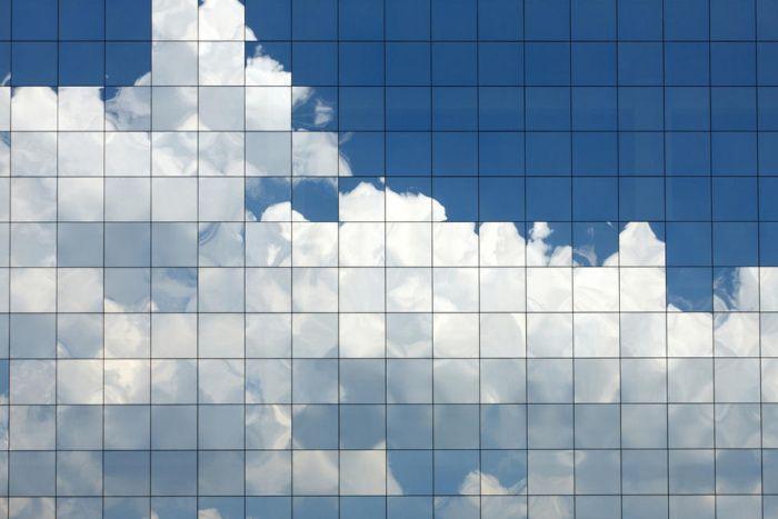 cloud in a grid