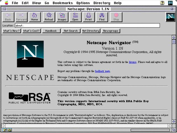 In Pictures A Visual History Of Netscape Navigator Slideshow Arn