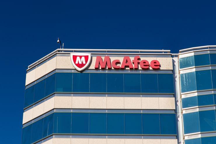 McAfee building