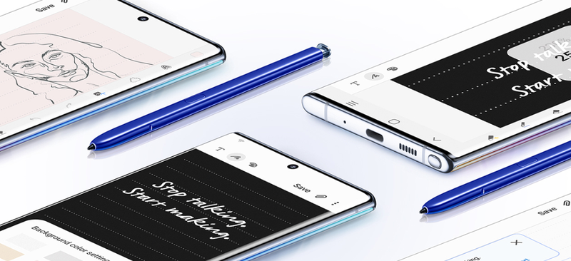 The Samsung Galaxy Note 10+ 5G will be Optus' first 5G phone
