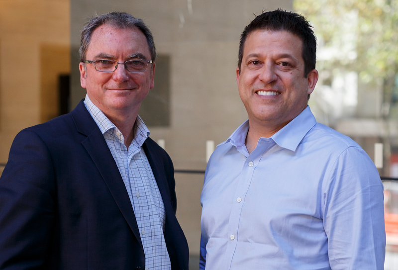 David Favelle (ValueFlow) and Brent Paterson (ServiceNow)