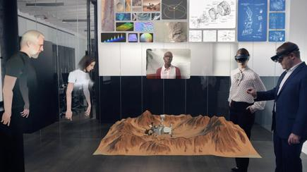"Spatial's augmented reality platform lets colleagues meet ""face to face"" using virtual avatars"