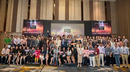Over 100 channel marketers attended the first APJ Dell EMC partner marketing summit 2018, SPARK