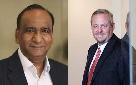 Shailendra Gupta (Peer Connexions) and Joergen Jakobsen (DaneAsia Consulting)