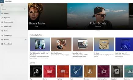 Groove Music may have been replaced by Spotify, but it ended up as a surprisingly useful music service, with recommendations and other useful features. But developing these took far too long, and in the end, competing services won out