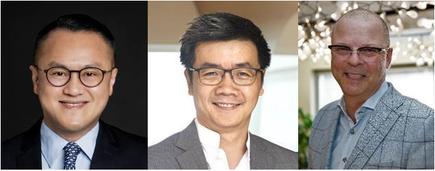 L-R: Sam Liew Lien Ban, Howie Lau, Sami Luukkonen (NCS)