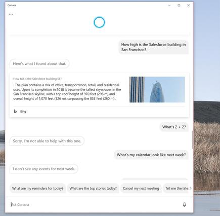 Here you can see Cortana fail where a first-grader succeeds.