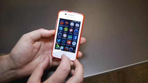 Running Firefox OS on the Alcatel One Touch Fire handset