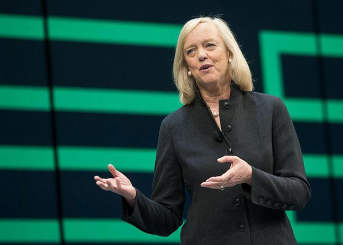 Hewlett Packard Enterprise president and CEO, Meg Whitman