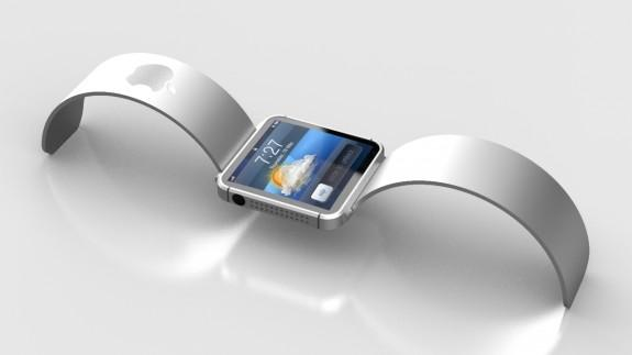 A concept design of the Apple iWatch. (Image credit: FuseChicken.com)