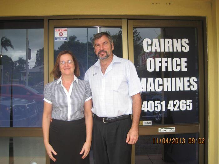 Kevin and Debbie Drovandi, Cairns Office Machines