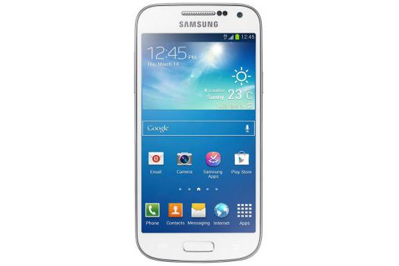 The Samsung Galaxy S4 Mini.
