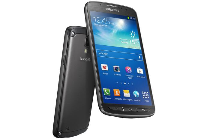The Samsung Galaxy S4 Active.