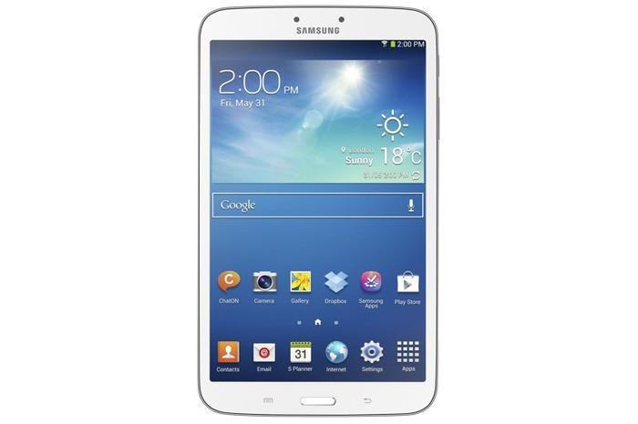 The Samsung Galaxy Tab 3 8-inch.